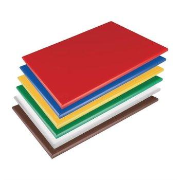 Snijplanken LPDE antibacterieel - set 6 stuks - 450x300x20mm