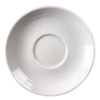 Schotels voor stapelbare kopjes Olympia Linear porselein - 12 stuks - 20cl