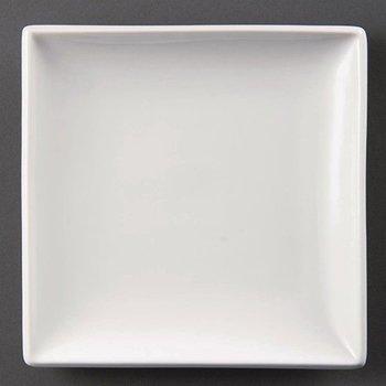 Vierkant bord porselein   Per 6 stuks   29,5x29,5cm