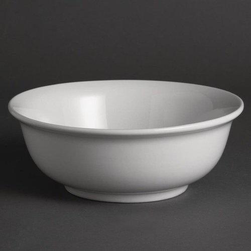 Saladeschaal porselein | Per 6 stuks | Ø20cm