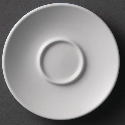 Schotel voor Espressokopjes porselein | Per 12 stuks