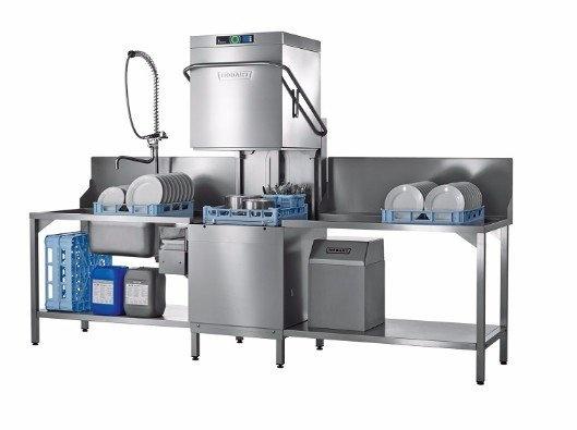 Hoe werkt een doorschuif vaatwasser?