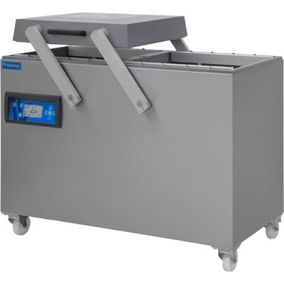 Vacumeermachine dubbelkamer serie D6 (aluminium)