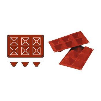 Bak/pudding vorm Pyramids