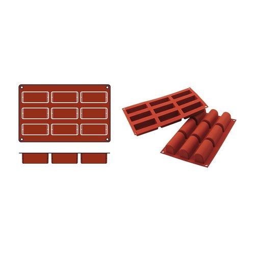 Bak/pudding vorm Cubes 84x35mm