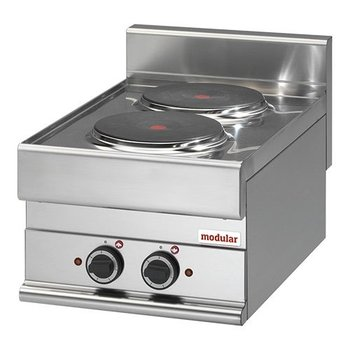 Kooktoestel elektrisch Modular 650 - 2-pits