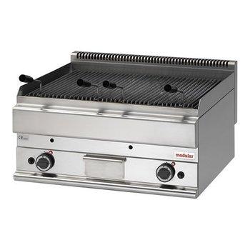 Lavasteen grill aardgas Modular 650 - 70cm