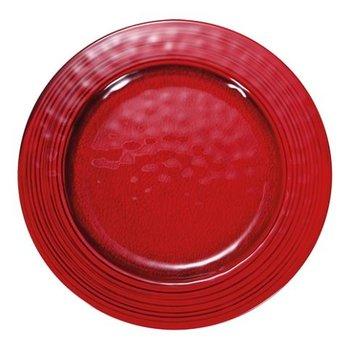 Melamine bord Waca - rood Ø28cm