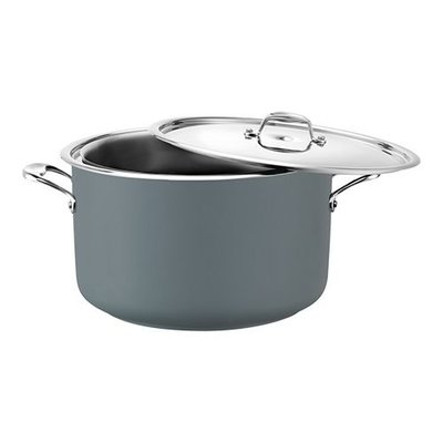 Bain marie pan - grijs - rvs middel - 5,40 liter