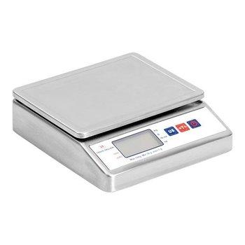 Elektrische weegschaal RVS - tot 10 kilo - per 1 gram