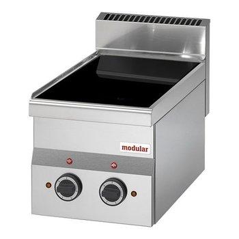 Keramische kookplaat Modular 600   2 zones   (H)28x30x60cm