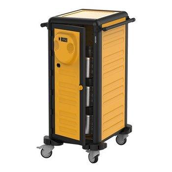 Verwarmde regaal-/ voedseltransportwagen Gastrolley - 20x 1/1GN