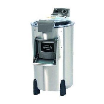 Elektrische aardappelschilmachine - 25kg | 500kg/u