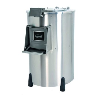 Elektrische aardappelschilmachine - 50kg | 1000kg/u