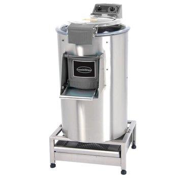 Elektrische aardappelschilmachine met filter - 25kg | 500kg/u