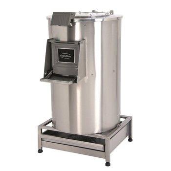 Elektrische aardappelschilmachine met filter - 50kg | 1000kg/u