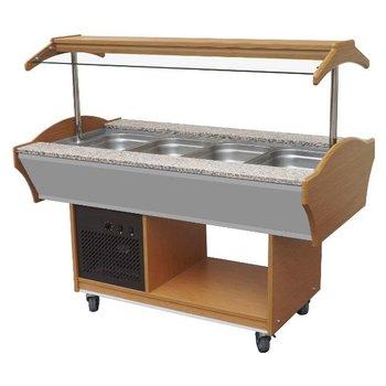 Gekoelde buffetwagen 4/1GN - 1550x900mm