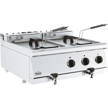 Elektrische friteuse 700 Line   2x10L   (H)30x(B)80x(D)70