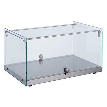 Neutrale display vitrine recht | 35L | (H)30,5x(B)55,4x(D)36,1