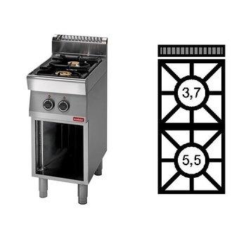 Gaskooktafel Modular 700 - 2-pits