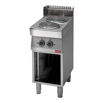 Kookplatentafel elektrisch Modular 700 - 2 platen