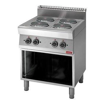 Kookplatentafel elektrisch Modular 700 - 4 platen