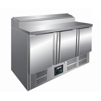 Garneer en preparatie koelwerkbank | Fran 3 deurs | 7/3GN | (H)101x(B)137x(D)70