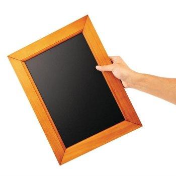 Krijtbord houten lijst - 30x40cm