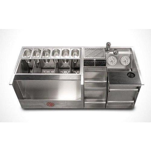 Kobayashi workflow station Cocktail station 1300x600mm - drop-in model