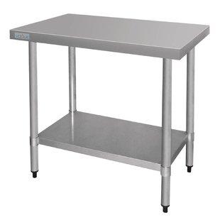 RVS Werktafel flat-pack (budget)