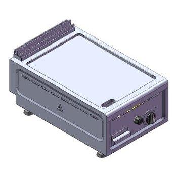 Bakplaat tafelmodel | aardgas | 6kW | (H)26/30x(B)38x(D)60cm