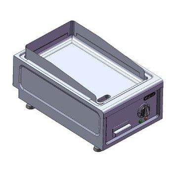 Bakplaat tafelmodel | 230V | 3,6kW | (H)26/30x(B)38x(D)60cm