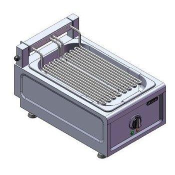 Watergrill tafelmodel | 230V | 3,2kW | (H)26/36x(B)38x(D)60cm