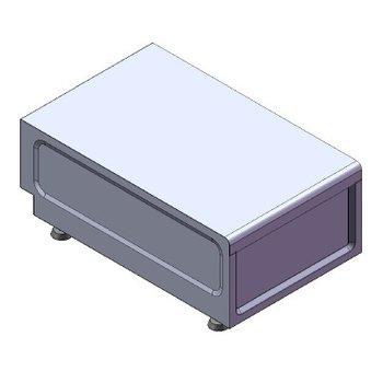 Werkunit tafelmodel | (H)26x(B)38x(D)60cm