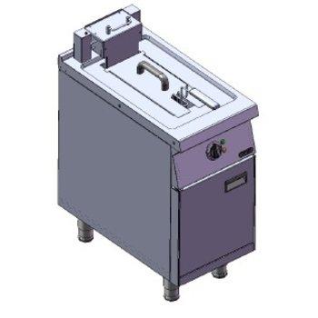 Friteuse | 10L | 400V | 8kW | (H)85/106x(B)40x(D)75cm