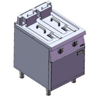 Friteuse | 2x10L | 400V | 16kW | (H)85/106x(B)80x(D)75cm