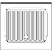 Nayati Bakplaat gegroefd   400V   9,1kW   (H)85/97x(B)80x(D)75cm