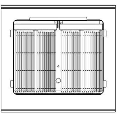 Nayati Watergrill   400V   6,4kW   (H)85/92x(B)80x(D)75cm