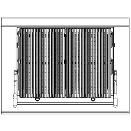 Nayati Lavasteengrill | aardgas | 14kW | (H)85/108x(B)80x(D)75cm
