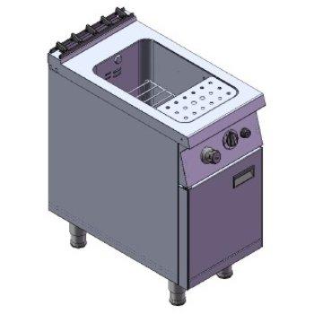 Pastakoker | 25L | aardgas | 10,5kW | (H)85/92x(B)40x(D)75cm