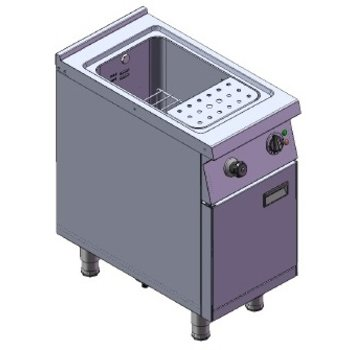 Pastakoker | 28L | 400V | 7,2kW | (H)85/92x(B)40x(D)75cm