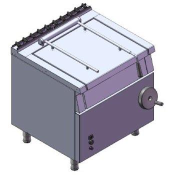 Kantelbare braadslede | 43L | aardgas | 12kW | (H)85x(B)80x(D)75
