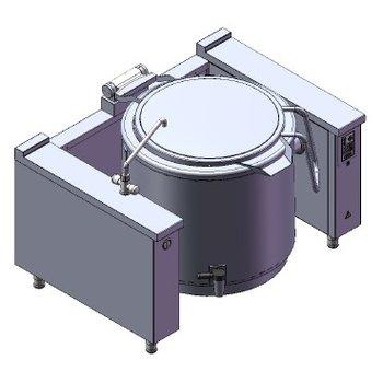 Kantelbare kookketel | 300L | 400V | 36 kW | (H)90x(B)160x(D)110cm