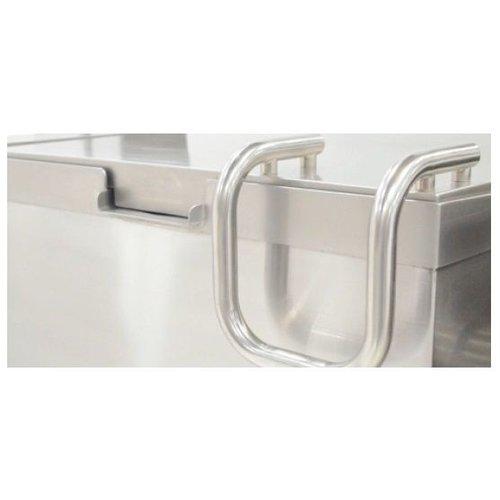 Nayati Kantelbare braadslede | 85L | 400V | 11,9 kW | (H)85x(B)120x(D)90/104cm
