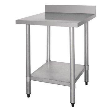 Werktafel flat-pack - achteropstand - 90(B)x60(D)cm