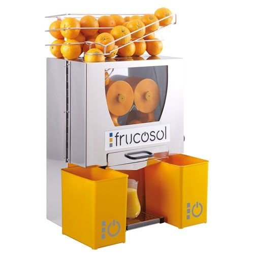Frucosol Automatische sinaasappelpers   Handmatige aanvoer   Handmatige bediening