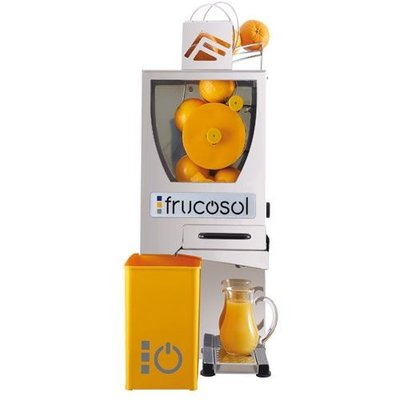 Automatische sinaasappelpers compact   Handmatige aanvoer   Handmatige bediening