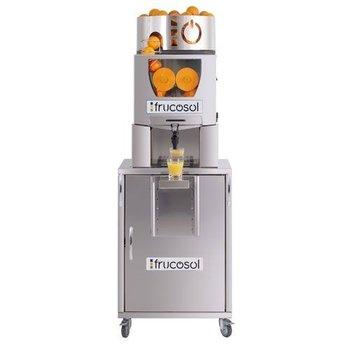 Automatische sinaasappelpers met zelfbedieningskraan   Automatische aanvoer