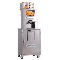 Automatische sinaasappelpers met zelfbedieningskraan | Automatische aanvoer