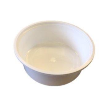 Plastic rond bakje - magnetron bestendig - 250ml